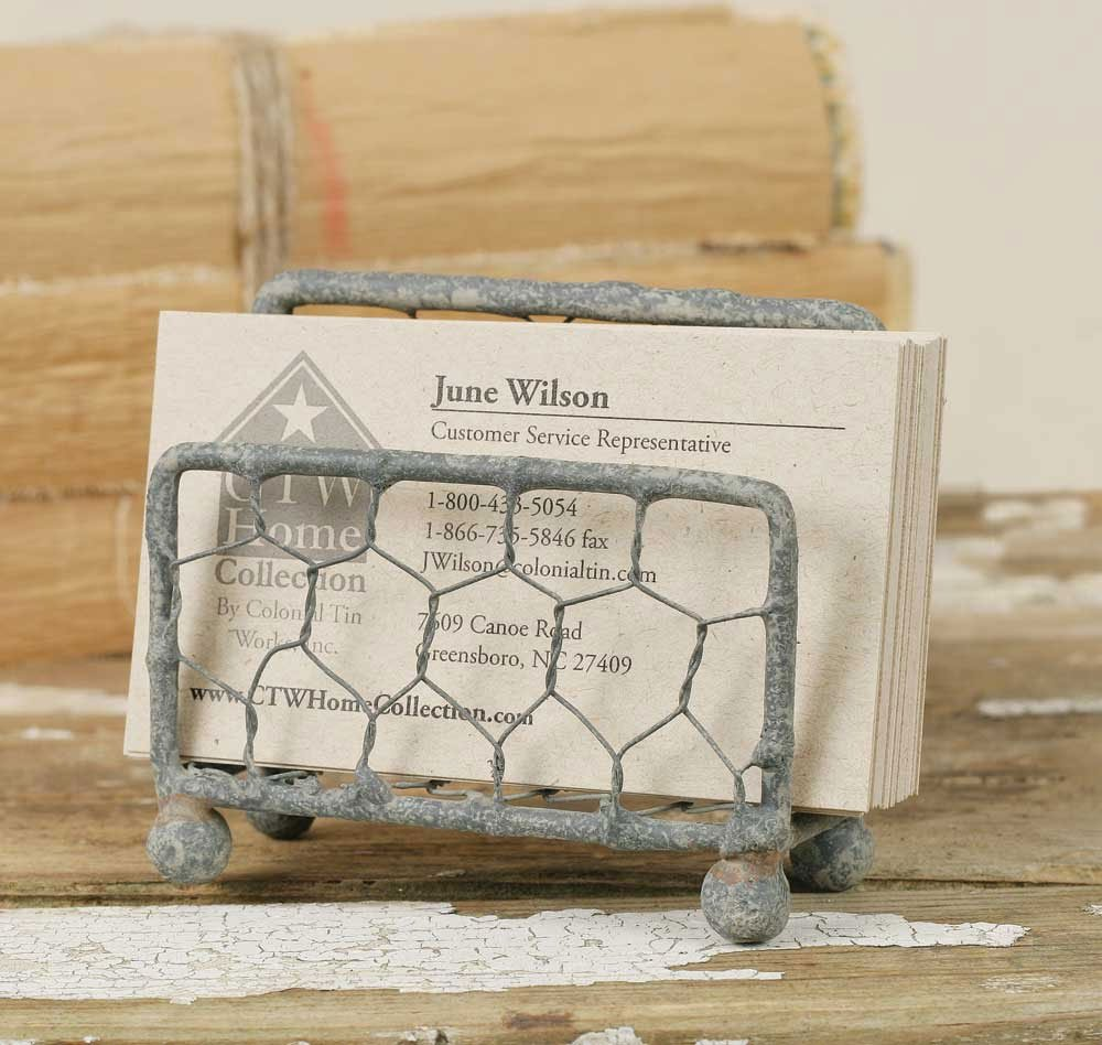 Amazon chicken wire business card holder with barn roof amazon chicken wire business card holder with barn roof finish office products magicingreecefo Gallery