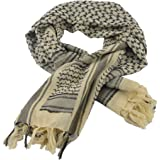"""Tactical Desert Shemagh Arab Keffiyeh Neck Scarf 43"""" x 43"""" 7 colors Available"""