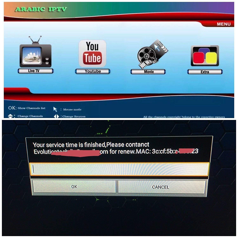 Renewal Service for Your Arabic IPTV Black - Gold, MAG, Vshare, Smart iptv - NO Device just Service -Please Read Instructions- 2 Years Renewal تجديد الاشثراك 24 شهر evo-customs 4336303109