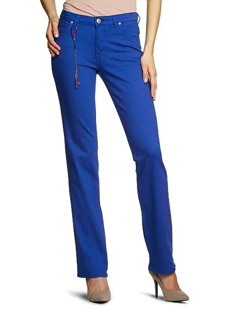 Lee – Jeans l301ev72 Straight Fit (gamba dritta) vita alta Blau (ELECTRIC  ULTRAM