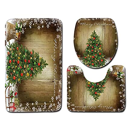 Amazon.com: Rustic Wooden Board Xmas Christmas Tree Themed ... on rustic wineries, rustic bathroom interiors, rustic bathroom art, rustic bathroom sinks, rustic bathroom accessories, home design bathrooms, rustic restrooms, historic home bathrooms, rustic master bathroom, mission style home bathrooms, rustic bathroom mirrors, rustic bathroom furniture, industrial home bathrooms, country home bathrooms, contemporary home bathrooms, exotic home bathrooms, rustic bathroom cabinets, beautiful home bathrooms, rustic bathroom makeover, rustic bathroom ideas,