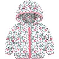 RAISEVERN Chaqueta para Bebés Abrigos Acolchados de Invierno para bebés niñas niños 0-36 Meses Chaquetas Acolchadas con…