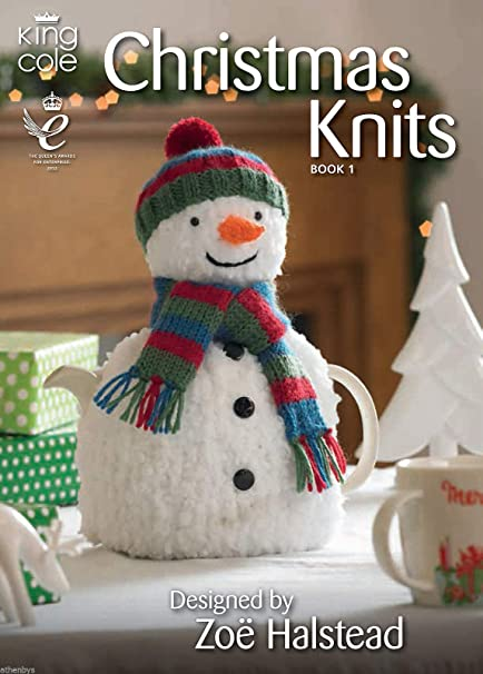 c060e82c47300c King Cole Christmas Knits Knitting Book Double Knitting Patterns by King  Cole  Amazon.co.uk  Kitchen   Home