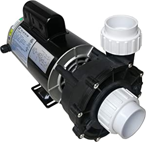 "KL KEY LANDER Hot Tub Spa Pump, 3HP, Two Speed, 56Frame, LX Motor, (220-240V/60Hz); 2"" Port; OEM#1019801-03 and 56WUA300-II"