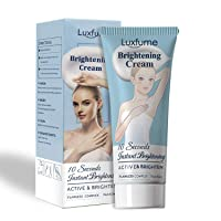 Whitening Cream, 10 Seconds Instant Whitening, Moisturizes and Effective Body Cream for Armpit, Knees, Elbows, Sensitive and Private Areas(2 Fl Oz)