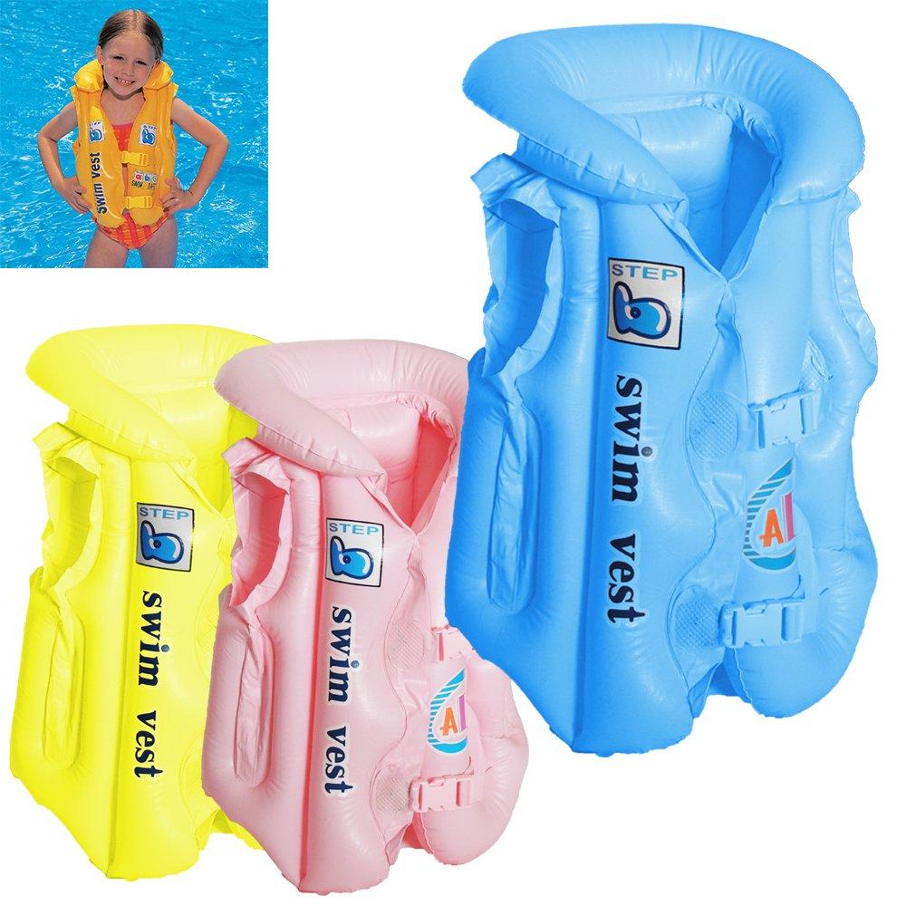 Chaleco inflable para niños Fusion (TM), para piscina y ...