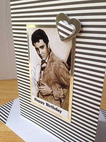 Elvis Presley American Singer Actor Vintage Handmade Happy