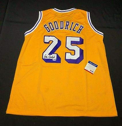 cda9cb93c92 Gail Goodrich Autographed Jersey -  HOF 4A21537 - PSA DNA Certified - Autographed  NBA