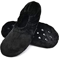 Soft Sole Warm Women's Slipper Socks Non-slip Grippers, Winter House Bedroom Slippers