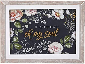 Christian Art Gifts Bless The Lord Oh My Soul, Psalm 103:1, Wall Plaque