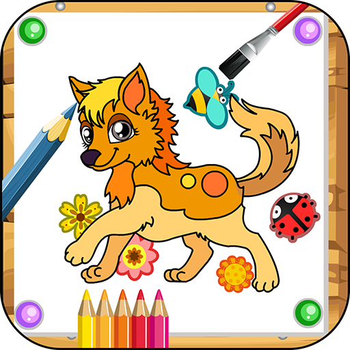 Pets Coloring Game
