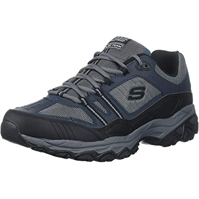 Skechers Men's After Burn Memory Fit - Strike Off Lace-Up Sneaker | Fashion Sneakers