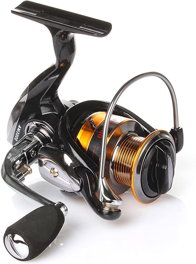 geila Spinning Carrete de pesca bobina de matel con 13 + 1 ...