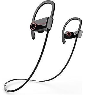 Bluetooth 4.1 Headphones Wireless In Ear Sports Earphones Tweets Tech Sweat-Proof Noise Cancellation Multi