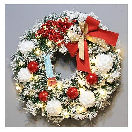 Amazon Com Promisen Christmas Wreath Merry Christmas Garland