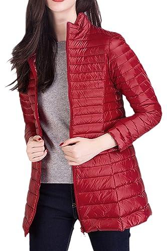 YACUN La Mujer Trinchera Abrigo De Invierno Chaqueta Outwear Trabajo Casual