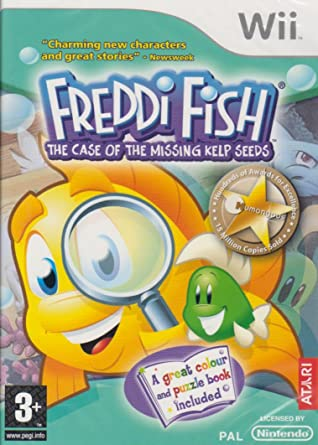 Freddi Fish And The Missing Kelp Seeds Download For Computer
