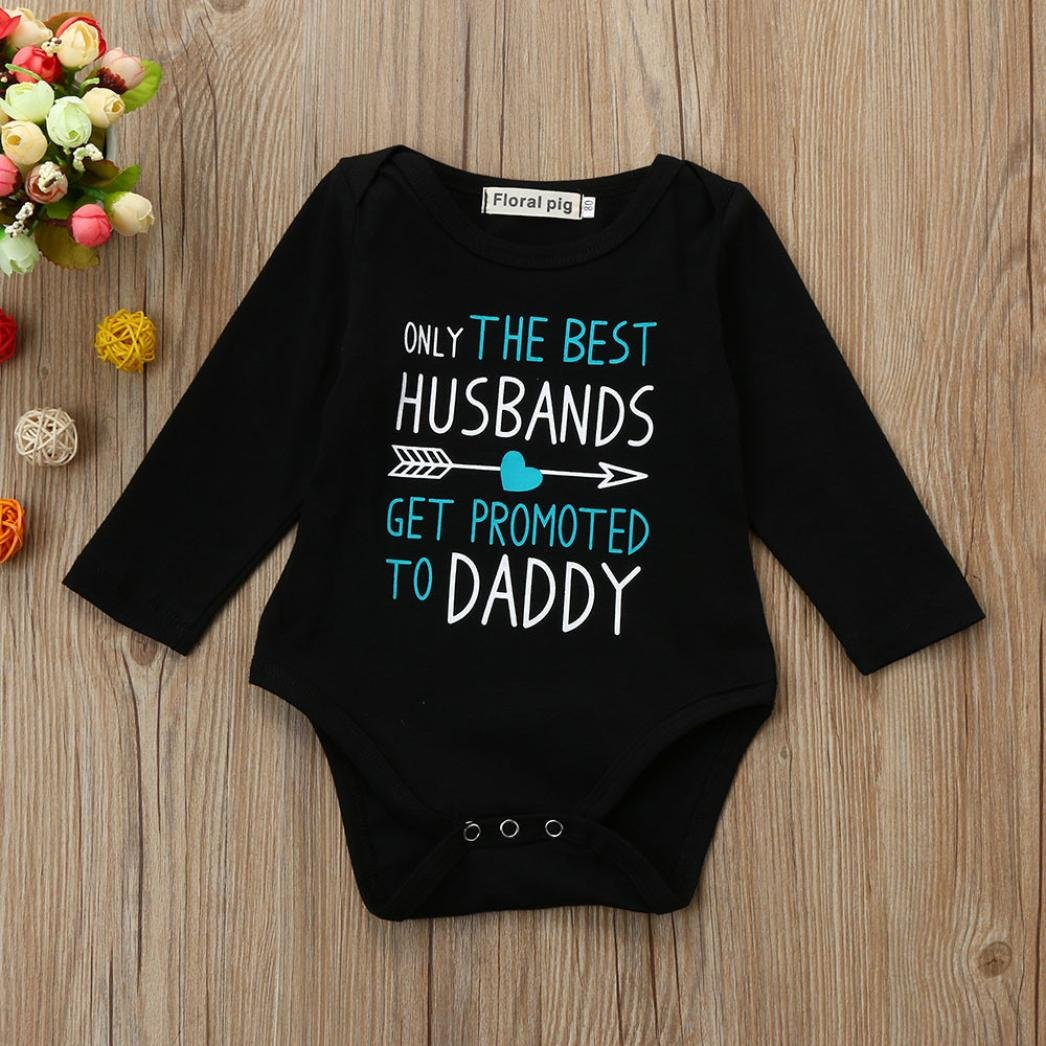For 0-18 Months Baby,DIGOOD Toddler Infant Baby Boys Letter Arrow Print Romper Clothes Set