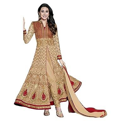 Amazon.com: Indian Designer Dress Pakistani Bollywood Anarkali Suit ...