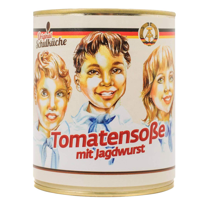 Original Schulk�che Tomatenso�e mit Jagdwurst
