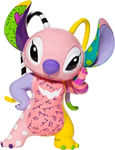 Enesco Disney by Romero Britto Lilo and Stitch The Series Angel Figurine, 7.7 Inch, Multicolor