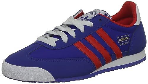 Adidas Originals Dragon Junior Chaussure De Sport Basket Pour Enfant Bleu Neuves 37 1/3: Amazon.es: Zapatos y complementos