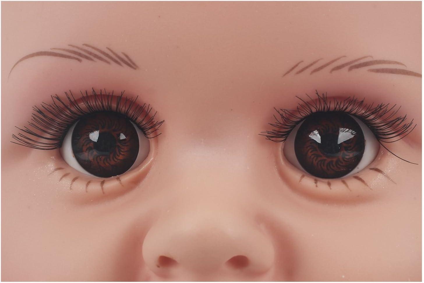 ACAMPTAR Children Schaufensterpuppe Babypuppen Schaufensterpuppen Kopfdeckel Brille