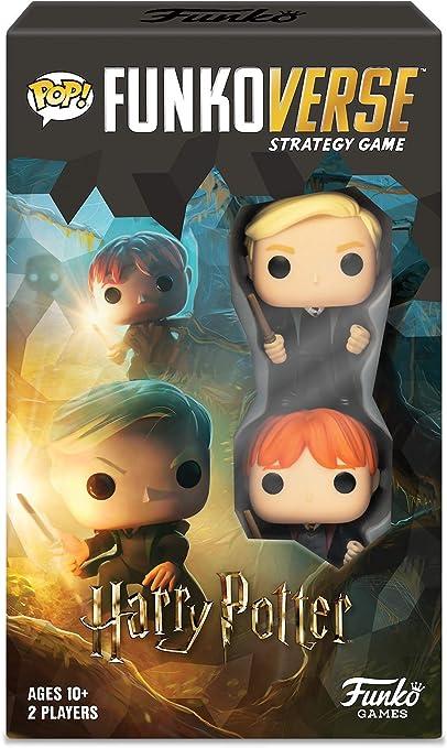 Amazon Com Funkoverse Strategy Board Game Harry Potter Theme Set