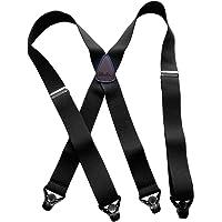 Patented Black composite No-slip plastic Gripper Clasps won't fray even Gore-Tex ski pants