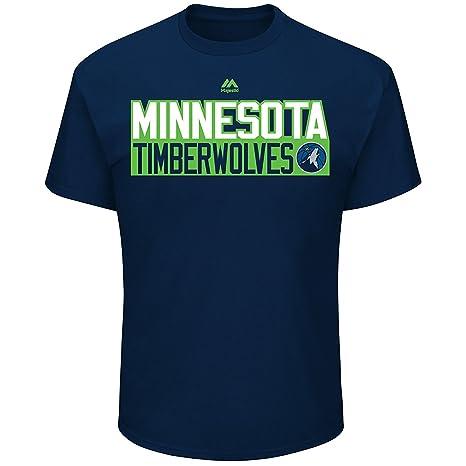 f818f177322760 Football Fanatics Minnesota Timberwolves Karl-Anthony Towns Vertical Player  T-Shirt (Small)