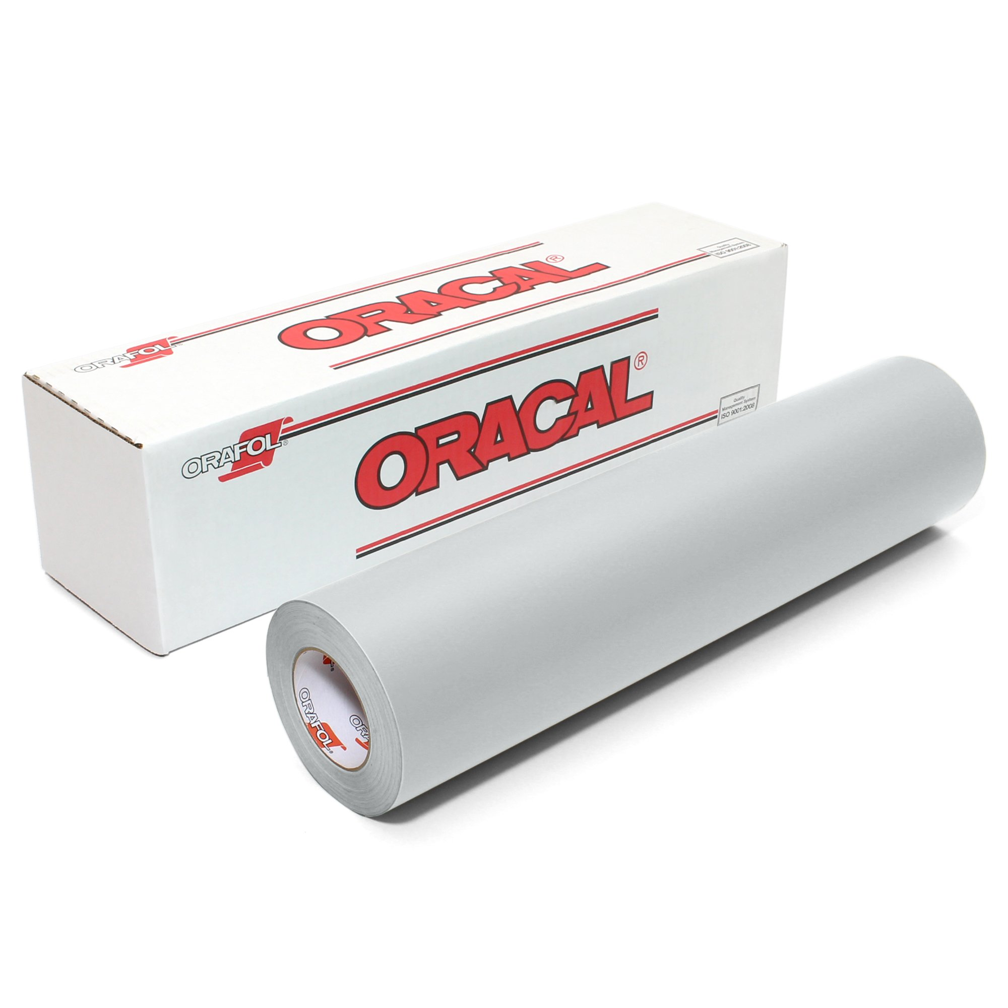 Oracal 631 Matte Vinyl Roll 24 Inches by 150 Feet - Light Grey
