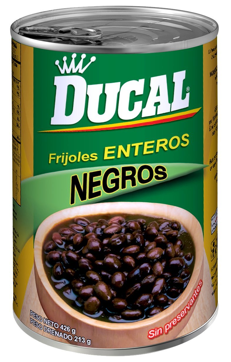 Ducal Whole Black Beans, 15 Ounce (Pack of 24)