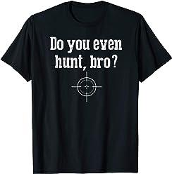 e65c2a65aa29c Funny Hunter T Shirt Gift Novelty Graphic Design Tshirt