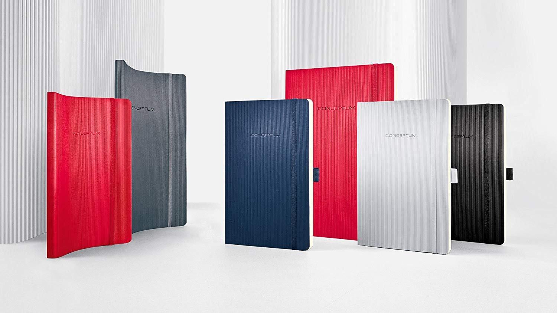 circa A5 blu scuro SIGEL CO326 Taccuino Conceptum copertina flessibile 194 pagine a quadretti