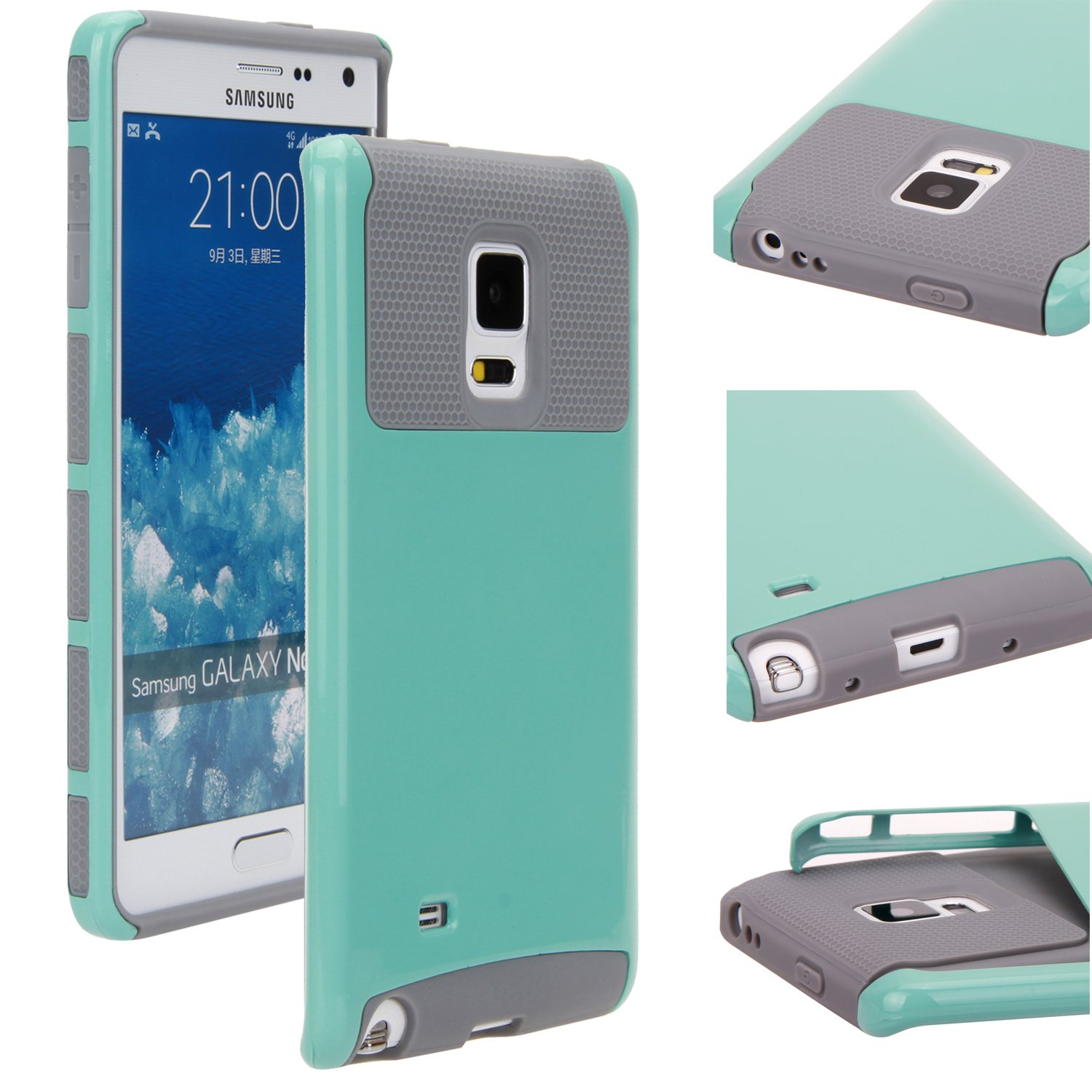 Amazon.com: GALAXY NOTE 4 edge case, E LV GALAXY NOTE 4 edge ...