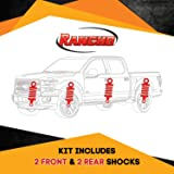 Kit of 4 Rancho RS5000 Front&Rear 0-1 inch lift