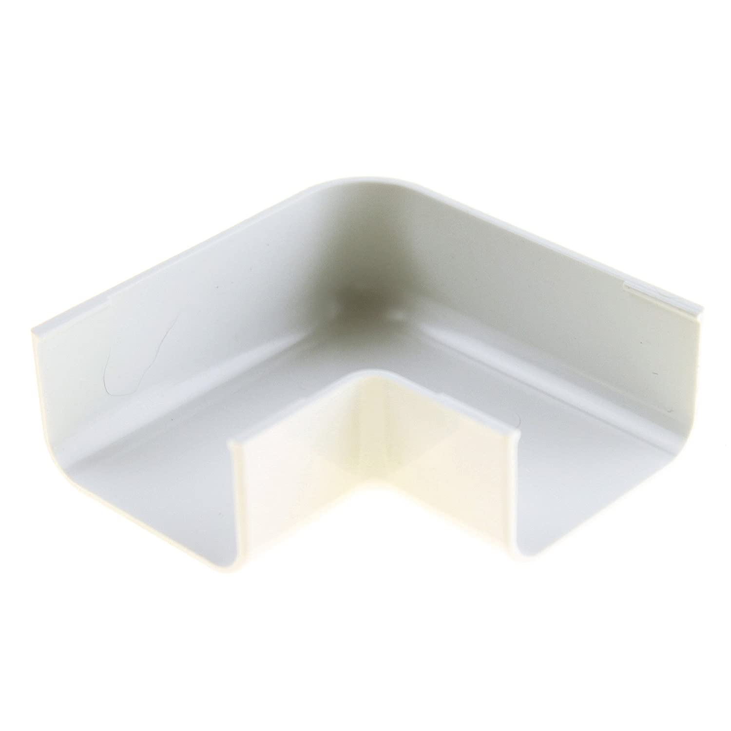 Pack of 10 Panduit RAF10WH-X Right Angle Fitting for LD10 Raceway White ABS