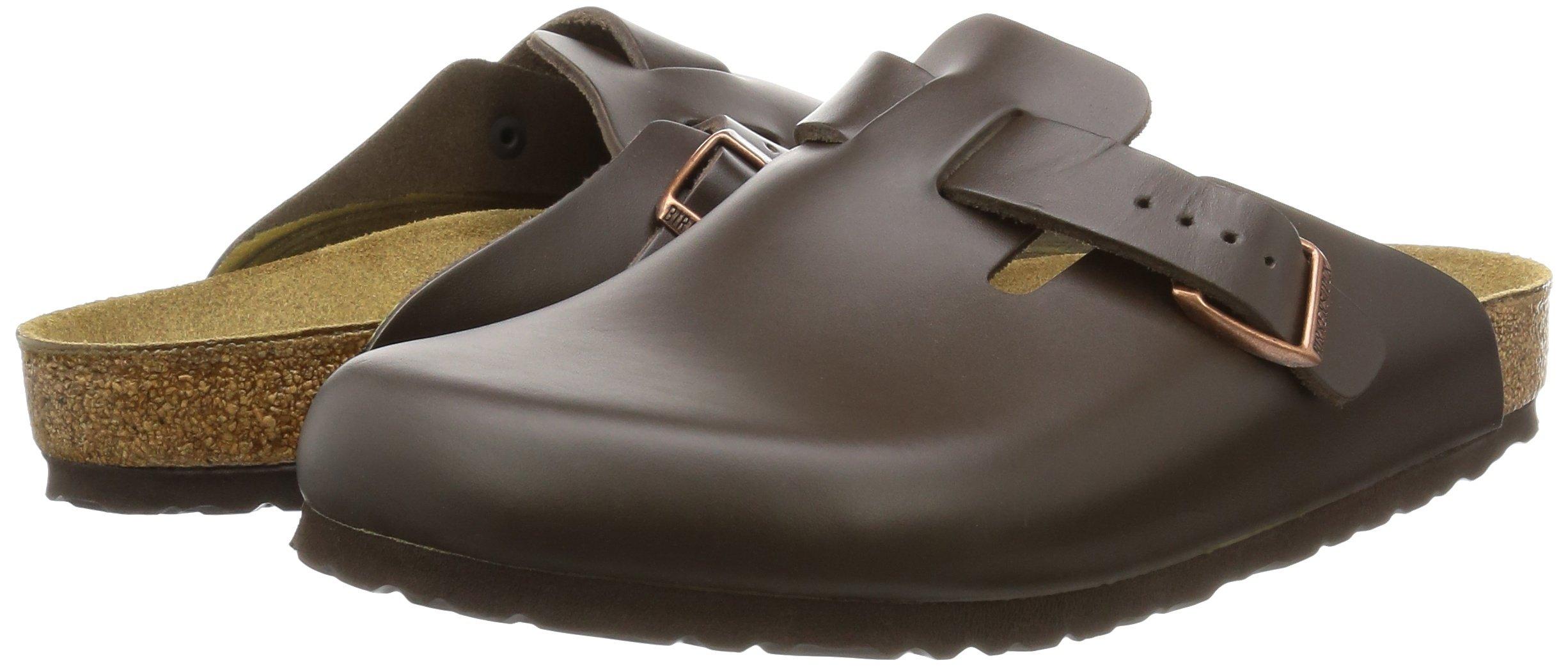 Birkenstock Boston, Unisex Adults' Clogs, Dark Brown Leather,8 UK by Birkenstock (Image #6)