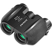 Binoculars for Adults, Compact Telescope High Power Binocular 10x25 Large Eyepiece Waterproof Lightweight Binoculars for Bird Watching, Hiking, Outdoor Hunting, Travelling, Safari, Also Fit for Kids