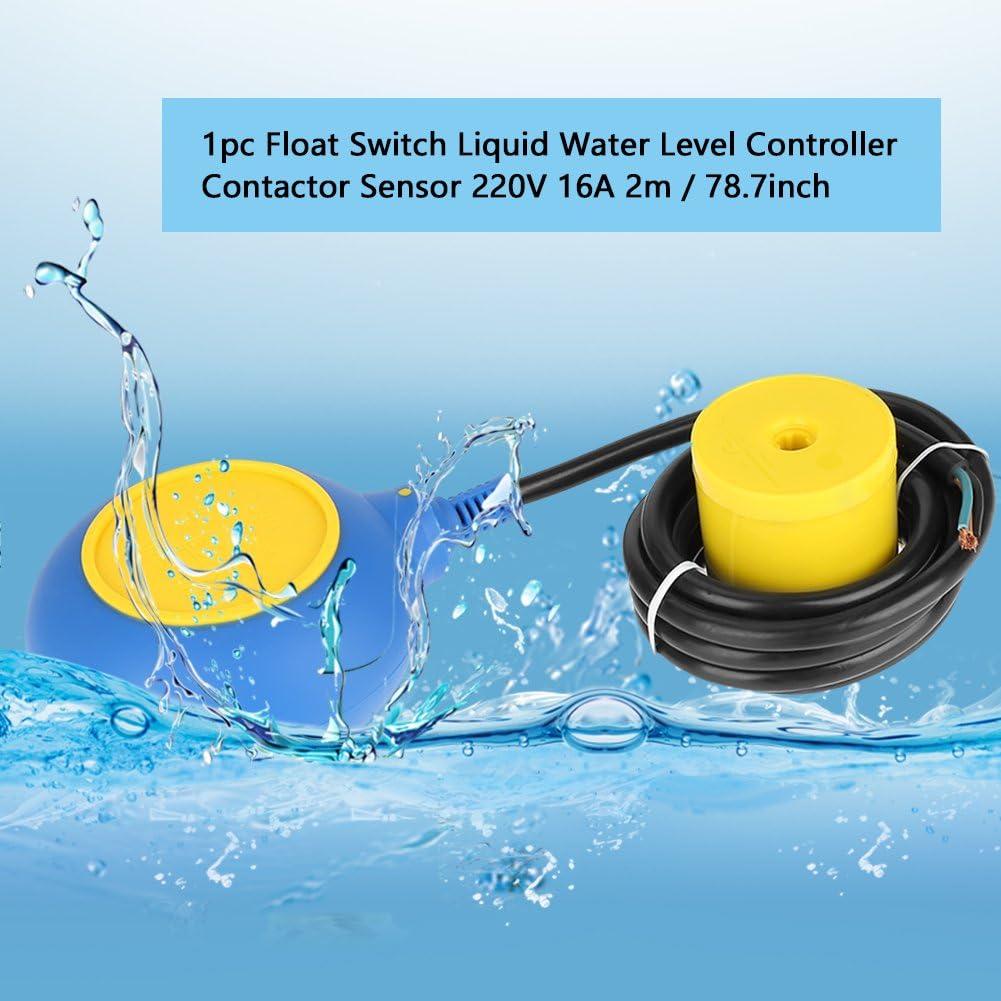 tipo de cable Interruptor de flotador L/íquido L/íquido Sensor de controlador de nivel de agua Interruptor de nivel Interruptor de flotador 4M