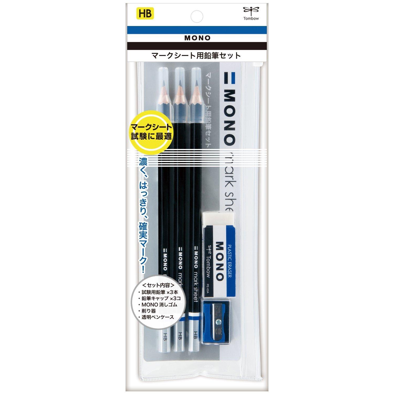 トンボ鉛筆 モノマークシート用鉛筆