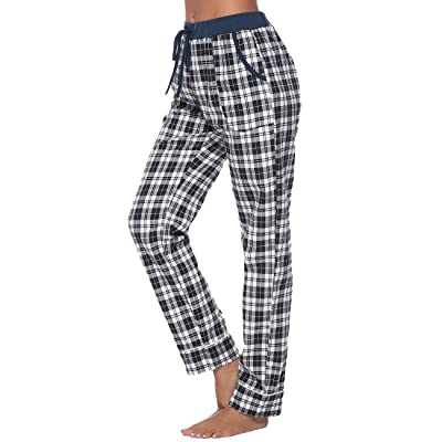 iClosam Womens Pajama Shorts Cotton Sleeping Bottoms Exercise Fitness Pants with Pockets with Pockets S-XXL