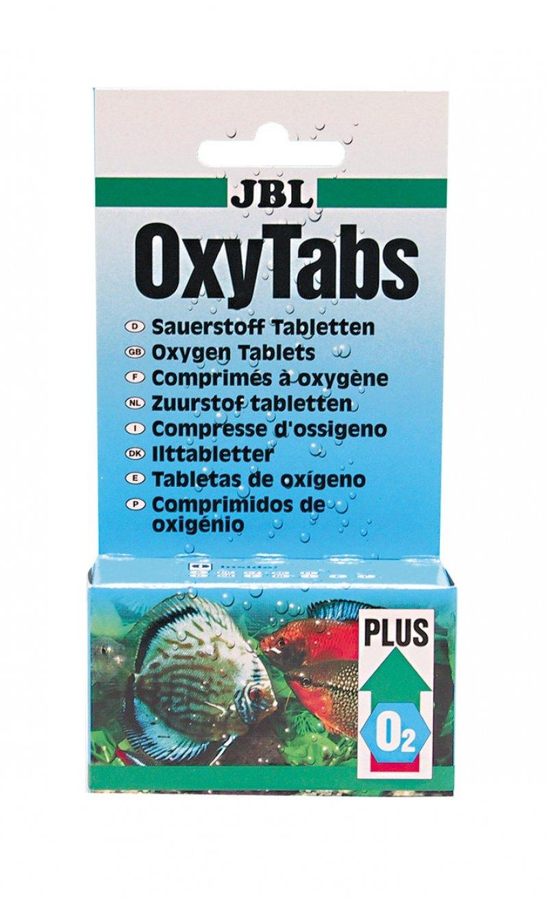 JBL OxyTabs, Comprimés d'oxygène pour aquariums d'eau douce 20217