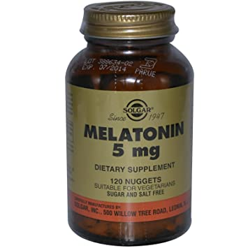 Image Unavailable. Image not available for. Color: Solgar, Melatonin, 5 mg ...