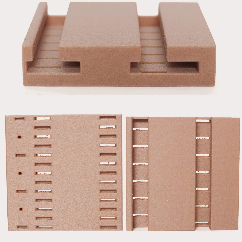 1kg Spool 0.03 mm Dimensional Accuracy // PRILINE Dark Wood Filament 1.75 3D Printer Filament