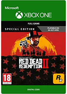 Red dead redemption 2 special edition xbox one