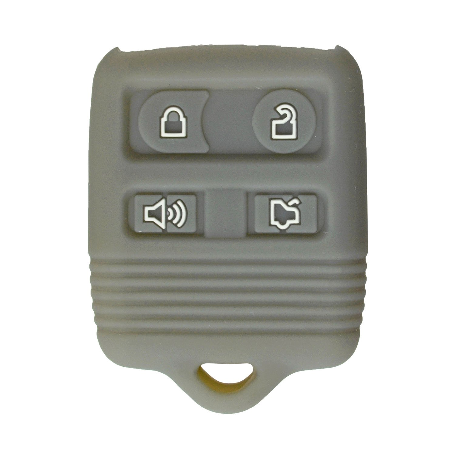 CWTWB1U345 Part #2S4T-15K601-AB with Keytag Return Service qualitykeylessplus Protective Rubber Silicone Cover for 4 Button Ford Keyless Entry Remote Fobs FCC ID CWTWB1U331
