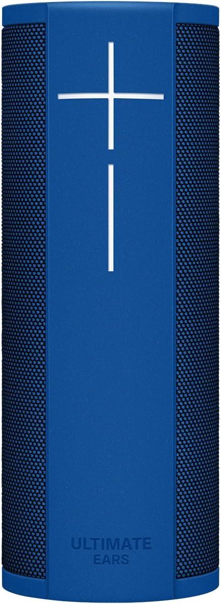 Ultimate Ears Megablast Altavoz Portátil Inalámbrico Wifi y Bluetooth, Graves Profundos, Compatible con Alexa, Impermeable, Conexión múltiple, Batería de 15 h, color Azul