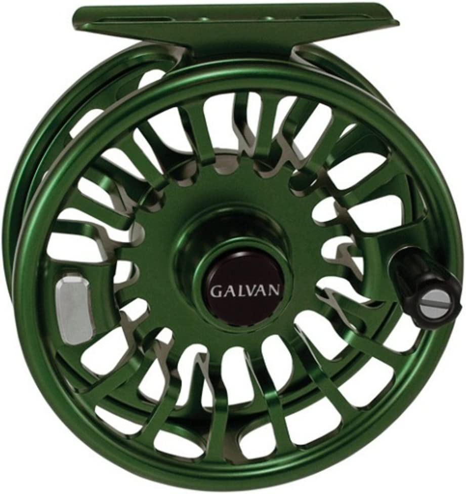 Galvan Torque Fly Reel Green, 8