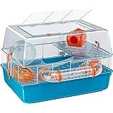 Ferplast Duna Fun Hamster Cage   Multi-Tier Hamster Cage Includes All Accessories   21.65L x 18.5W x 14.76H Inches